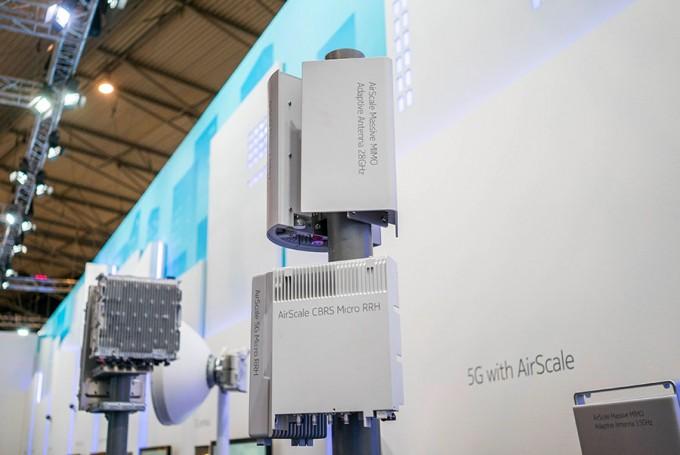 밀리미터 웨이브 기지국. 5G는 1초에 최대 20Gbps를 전송할 수 있으며 그 핵심 기술이 밀리미터 웨이브이다. - 최호섭 제공