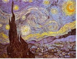 빈센트 반 고(Vincent Van Gogh), <별이 빛나는 밤에(1889)>