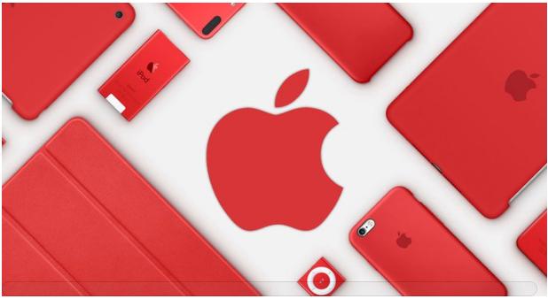 애플은 지난해에도 아이폰7 프로덕트 레드 스페셜 에디션을 내놓았던 바 있다. 차이점은  컬러.  - 사진 애플 제공