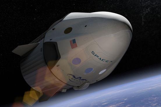 스페이스X의 드래곤V2 우주선 – 스페이스X 제공