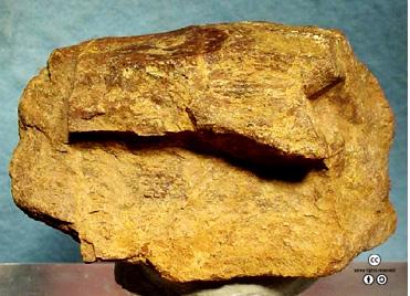 토륨이 4~8%정도 포함됐다고 알려진 모자나이트 광물. - (cc) Rob Lavinsky / iRocks.com 제공