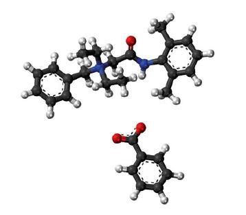 데나토늄 벤조에이트의 화학구조. - 과학동아 2018년 5호 제공