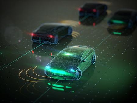 자율주행차 - GIB 제공