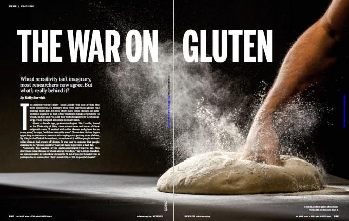 학술지 '사이언스' 5월 25일자에는 밀가루 음식 유해성의 주요 원인이 글루텐인가에 대한 최근 연구결과와 과학자들의 논쟁을 다룬 심층기사가 실렸다. - '사이언스' 제공