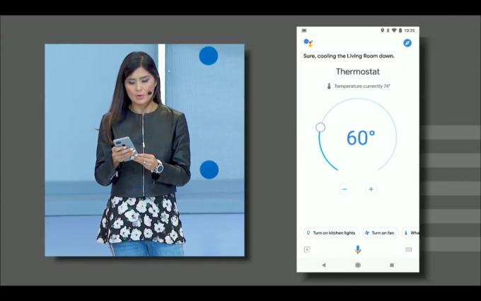 구글 어시스턴트는 단순히 음성비서에 머물지 않고 화면을 더해 더 많은 정보를 전달한다. - 최호섭 제공
