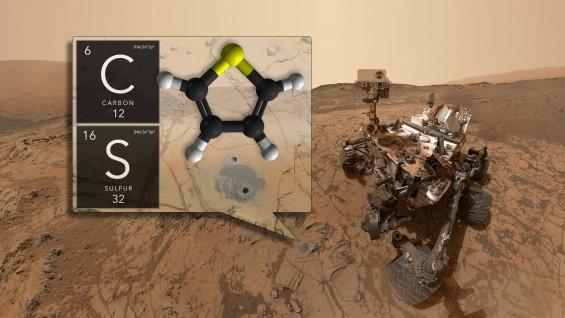 과거 생명의 흔적? 35억 년 전 화성 암석에서 유기화합물 발견