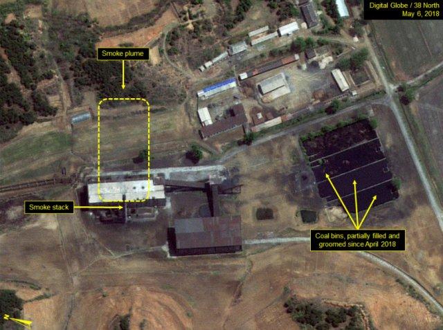 핵단지 내 방사화학실험실 건물(노란색 점선) - 38노스 제공
