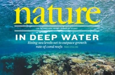 [표지로 읽는 과학] 해수면 상승으로 몸살 앓는 열대 산호초… 2100년 전부 사라져