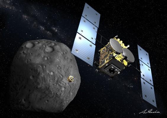日 탐사선 '하야부사-2' 소행성 '류구' 도착…첫 C형 소행성 탐사