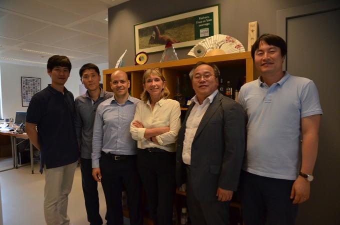 EFBW를 방문한 한국 수자원 연구진.