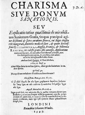 카리스마는 원래 특별한 은사를 뜻하는 기독교 용어였다. - 위키미디어 제공