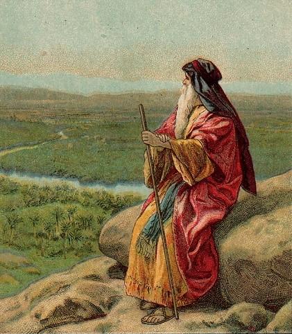 출애굽기에 등장하는 모세는 이집트 땅을 떠나, 40년을 헤맨 끝에 약속의 땅, 가나안을 보게 된다. - 위키미디어 제공