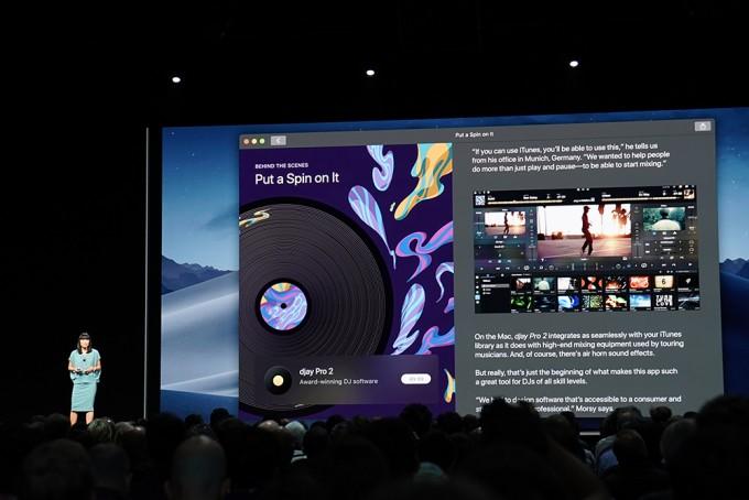 맥 앱스토어도 개편된다. iOS의 앱스토어처럼 앱을 더 잘 드러나게 하고, 동영상으로 앱을 소개하는 항목도 더해진다. - 최호섭 기자