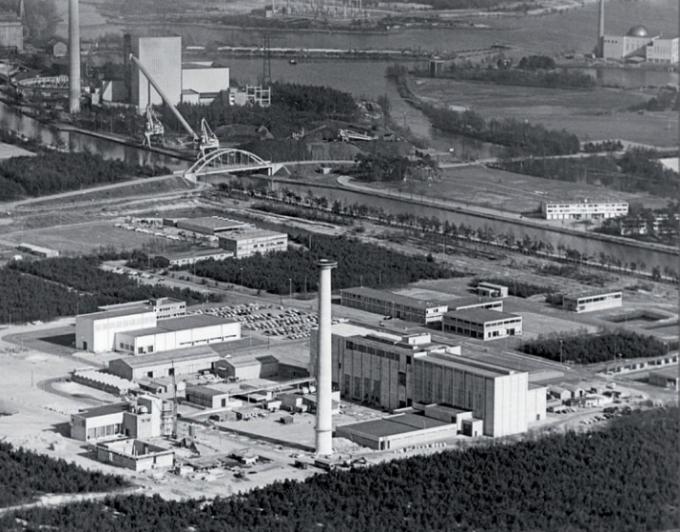 사용후 핵연료 재처리 전용 시설이었던 유로케믹(Eurochemic). - 유로케믹 홈페이지(http://www.eurochemic.be) 제공