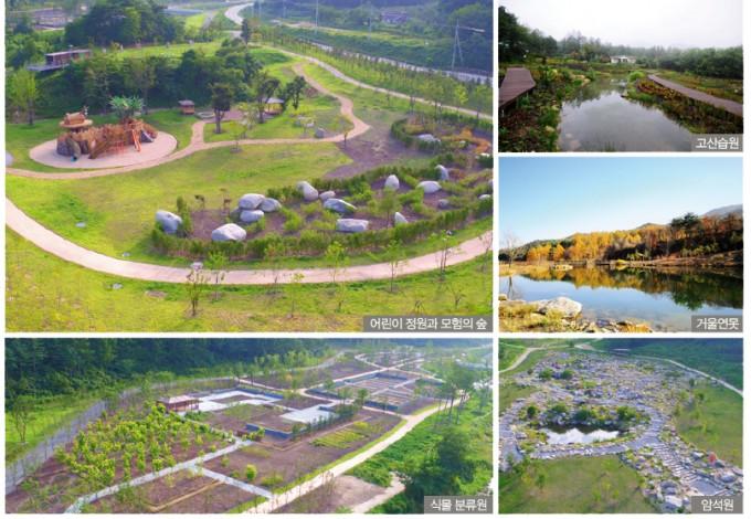 국립백두대간수목원의 주요 시설