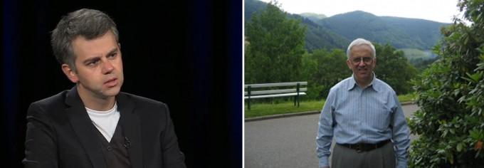 세르게이 노비코프(좌)와 그리고리 마르굴리스(우) - 유투브 캡쳐/위키피디아 제공