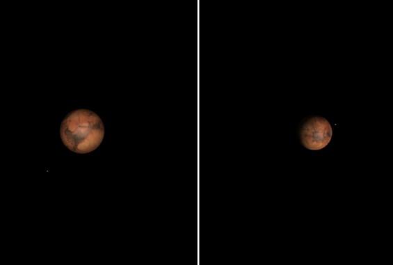 7월 밤 설레는 만남, 화성이 성큼 지구에 다가온다