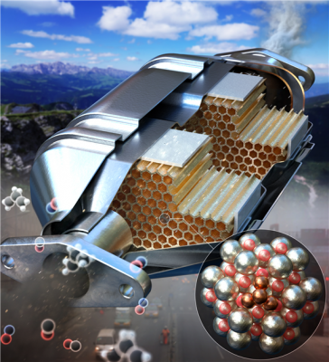 원자 3~4개 연결, 고효율 '미래형 촉매' 만들었다