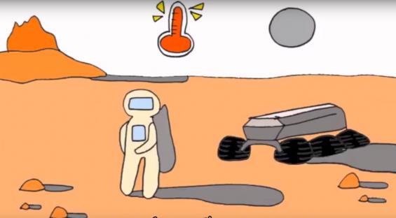 [과학 읽어주는 언니] 미래 화성 거주지는 어떤 모습일까?