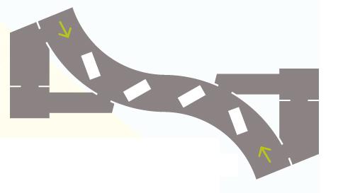밸런스가 좋은 맵 - 두 팀이 배치되는 맵이 서로 점대칭일 경우에는 각 팀이 이동할 수 있는 경로의 방향이 같다. 양 팀 모두 좌회본능에 유리하기 때문에 밸런스가 좋다. - 넥슨 제공