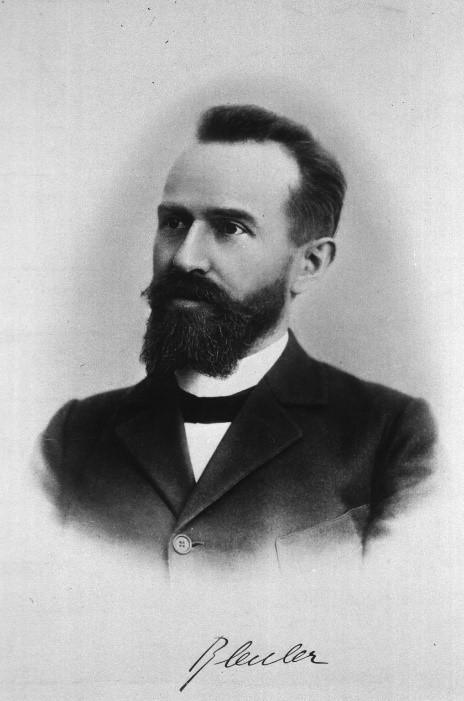 1908년 유겐 브로일러는 정신분열병(schizophrenia)라는 용어를 처음 제시했다. 이는 당시 의학 수준으로는 상당히 혁신적인 것이었지만, 이후 수많은 편견과 오해를 낳는 원인이 되기도 했다. - 위키미디어 제공
