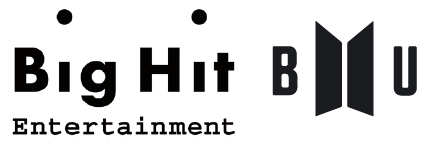 BTS 윙즈 콘셉트북에 처음 등장한 BU로고. 이후 방탄소년단 세계관과 관련된 노래나 영상물엔 BU 로고가 붙는다.