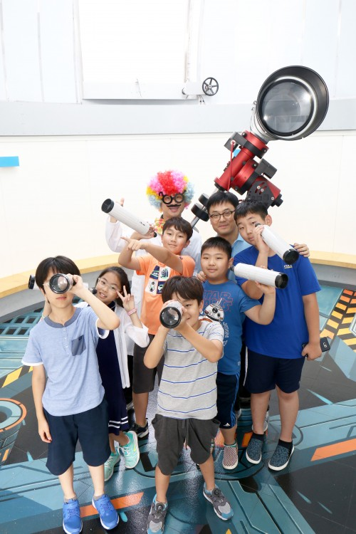 섭섭박사님과 함께한 망원경만들기 - 어린이과학동아 제공