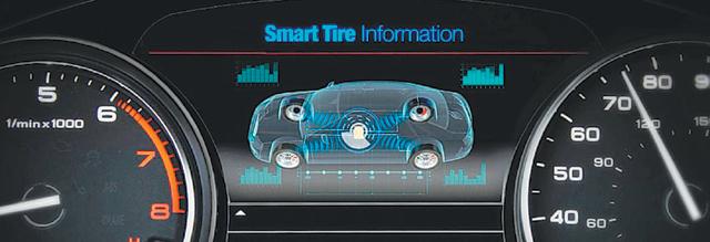 스마트 타이어가 상용화되면 차량용 컴퓨터를 통해 주행 중 바퀴의 회전 수, 타이어의 미끄러짐 등 각종 정보를 실시간으로 확인할 수 있다. 미래형 자율주행차 개발에도 큰 도움이 될 것으로 보인다. - 한국기계연구원 제공