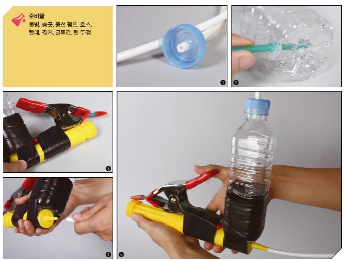 풍선 펌프로 물총 만들기 - 어린이과학동아 2018년 14호 제공