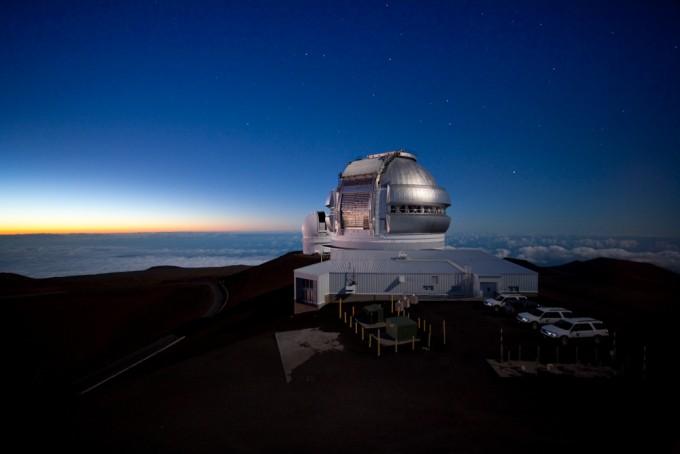 미국 하와이섬에 위치한 북반구 제미니천문대. - 제미니천문대 제공
