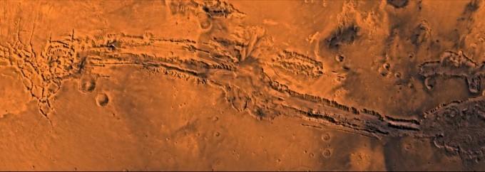 마리네리스 협곡 - NASA 제공
