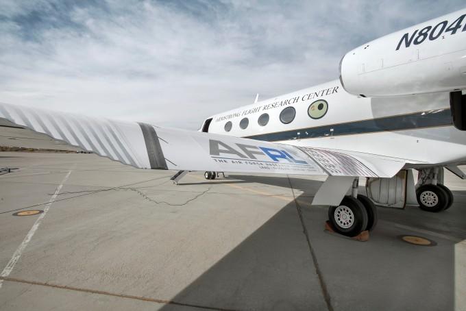 NASA에서 개발한 소음 저감 비행기. 비행기의 모습이 변하면서 동시에 공항의 모습도 바뀔 것으로 예측된다. - NASA 제공