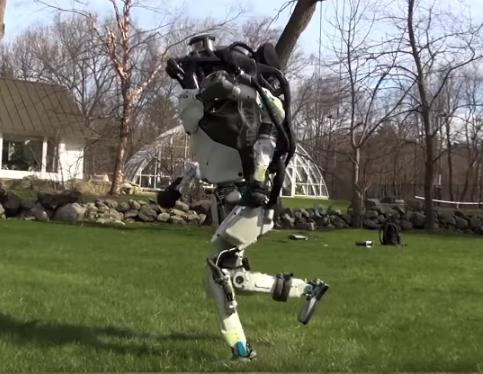 보스턴 다이내믹스의 로봇 아틀라스