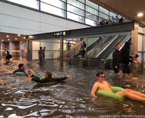 스웨덴 사람들, 홍수를 즐기는 법