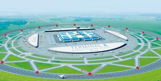 공항이 변신한다...활주로가 도넛 모양? 미래형 공항