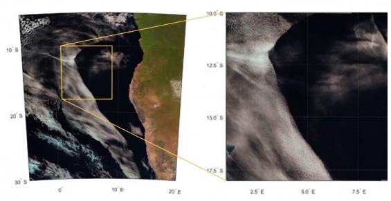 아프리카 거대 구름 미스터리 풀렸다