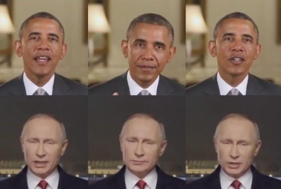 오바마 멘트 따라하는 푸틴 동영상? 입모양 따라하는 영상알고리즘 개발