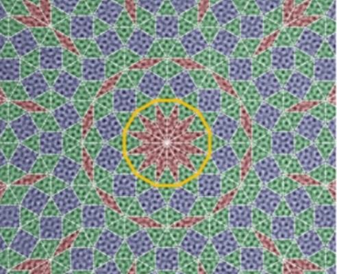 [표지로 읽는 과학] 깨달음 세계 만다라 닮은 그래핀 준결정