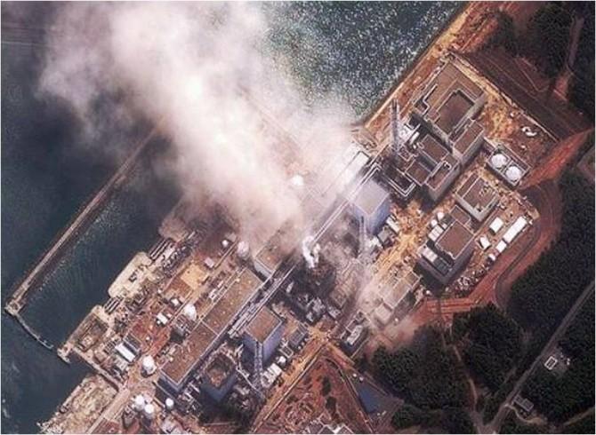 동일본 대지진 당시 후쿠시마 원전 폭발 모습. 플리커(deedaveeeasyflow) 제공