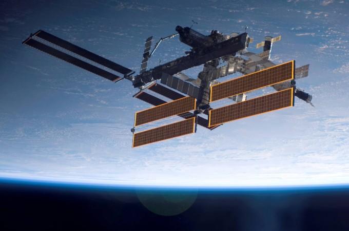 국제우주정거장의 모습. 미국항공우주국 제공.