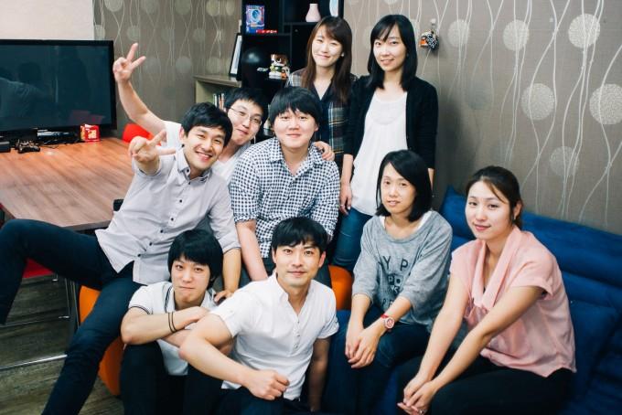 팟게이트 출시 초기 오드엠 멤버들