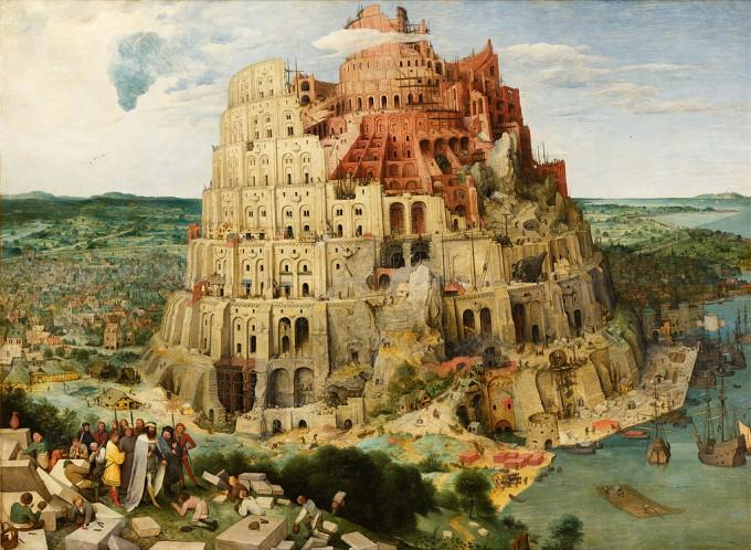 피터 브뤼헬의 그림 바벨탑. 인간 언어는 어떻게 탄생한 걸까, 연구가 진행될수록 의문이 깊어지고 있다.