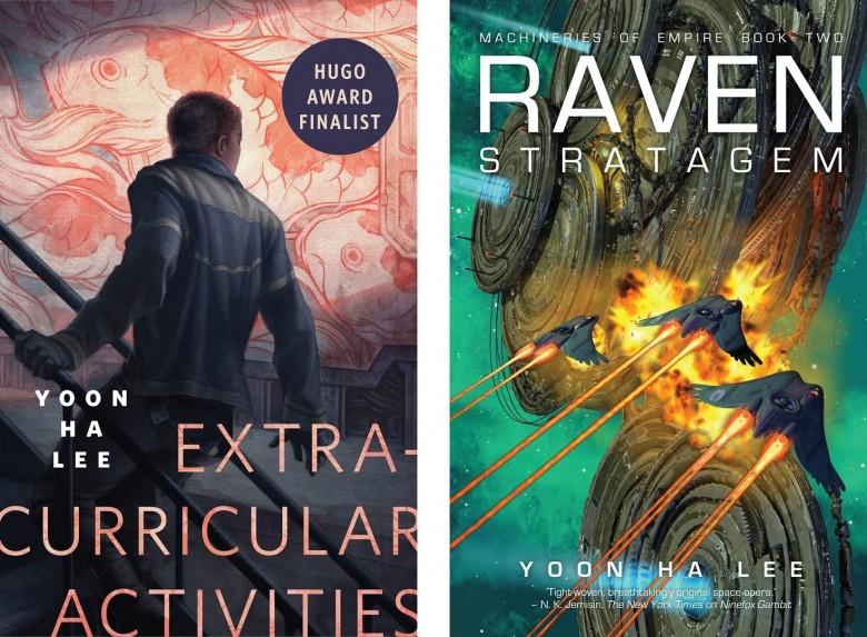 이윤하 작가의 2017년작 권한 외 활동(Extracurricular Activities)과 까마귀 책략(Raven Stratagem) - books.google.com 제공