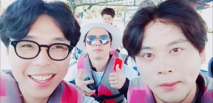 (왼쪽부터)안세윤 JP브라더스 대표, 박상철 CTO, 서지호 CSO