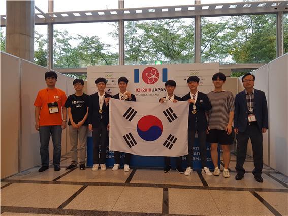 한국 고등학생 대표단, 국제정보올림피아드 종합 2위