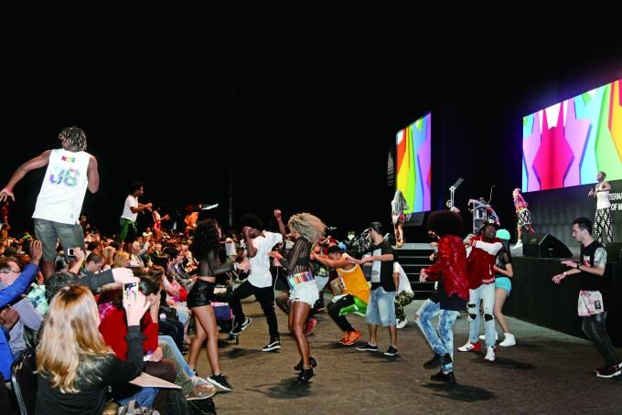 브라질 개막식 장면 - 김우현 기자 제공