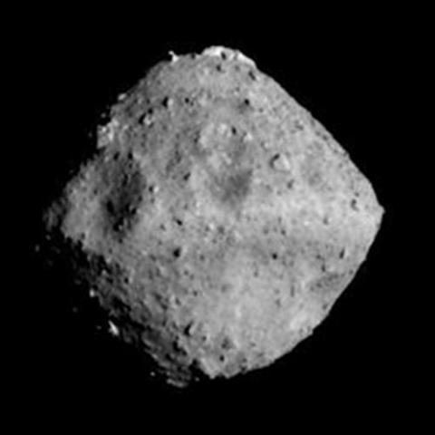 소행성 류구의 모습. JAXA제공.
