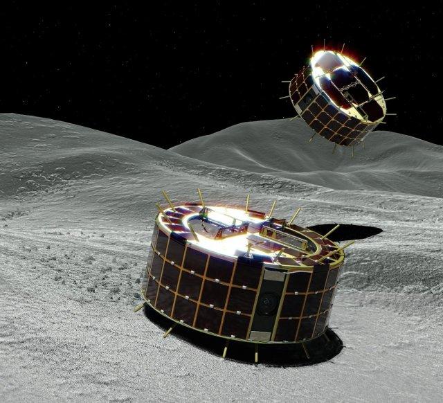 소행성 탐사로봇 미네르바II-1의 모습. JAXA제공.