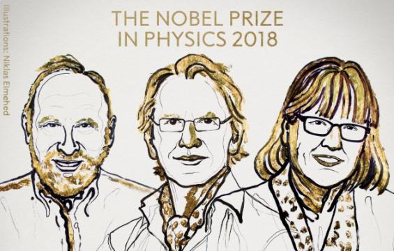 노벨물리학상, 빛의 도구 개발한 애슈킨·무루·스트리클런드 3인 수상(3보)