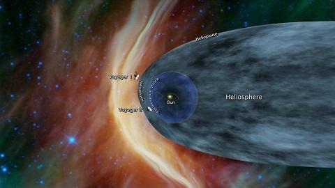 보이저2호,곧 태양계 경계 도착 '먼 우주로'